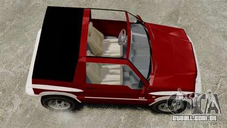 Suzuki Vitara JLX para GTA 4 vista direita