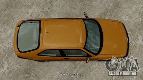 Saab 9-3 Aero Coupe 2002 para GTA 4 vista direita