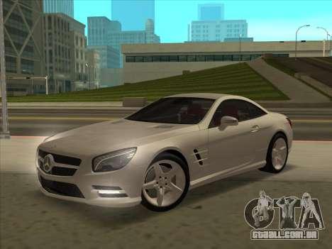 Mercedes-Benz SL500 2013 (ImVehFt v2.02) para GTA San Andreas vista inferior