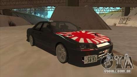 Nissan Skyline ER34 Street Style para GTA San Andreas esquerda vista