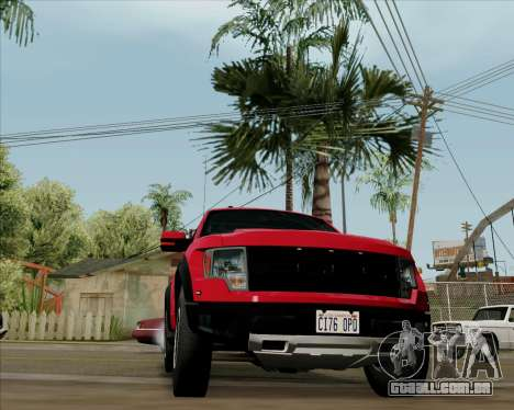 Ford F-150 SVT Raptor 2011 para GTA San Andreas