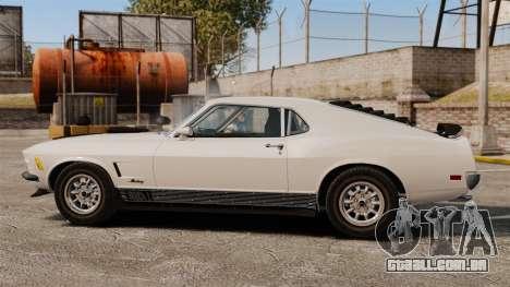 Ford Mustang Mach 1 Twister Special para GTA 4 esquerda vista