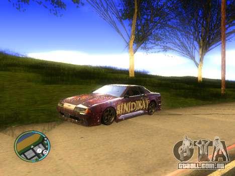 Vinil para Elegy para GTA San Andreas