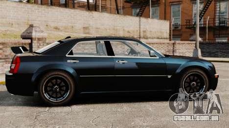 Chrysler 300C Pimped para GTA 4 esquerda vista