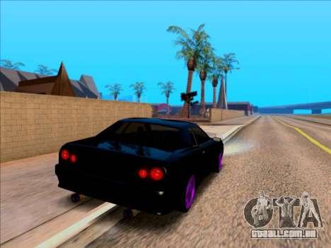 Elegy by Xtr.dor v1 para GTA San Andreas traseira esquerda vista