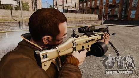 Máquina de assalto FN SCAR-L para GTA 4 segundo screenshot