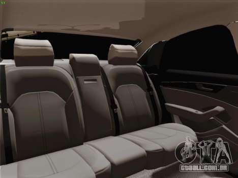Audi A8 Limousine para as rodas de GTA San Andreas