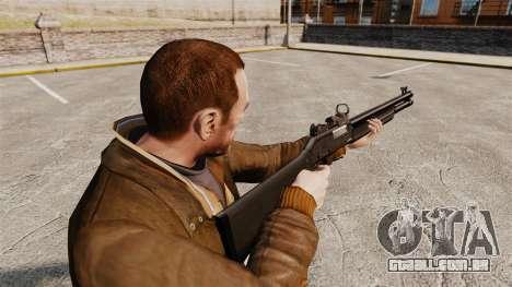 Tática espingarda Fabarm SDASS forças Pro v3 para GTA 4 segundo screenshot