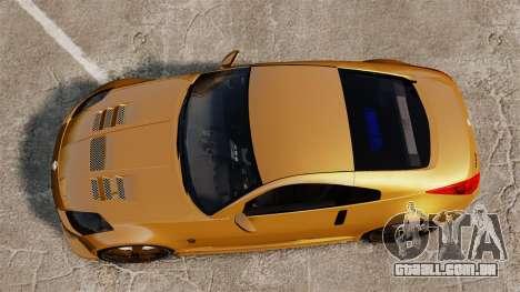 Nissan 350Z Tuning para GTA 4 vista direita