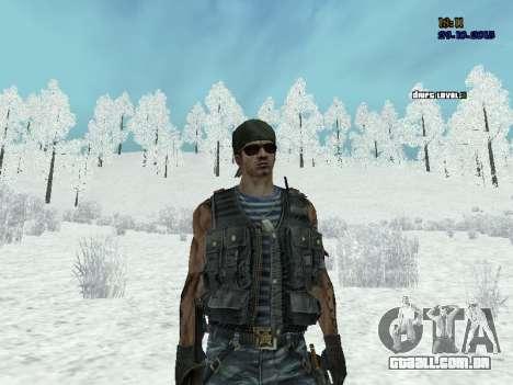 Commando para GTA San Andreas por diante tela