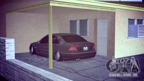 Mercedes-Benz C32 AMG para GTA San Andreas vista direita