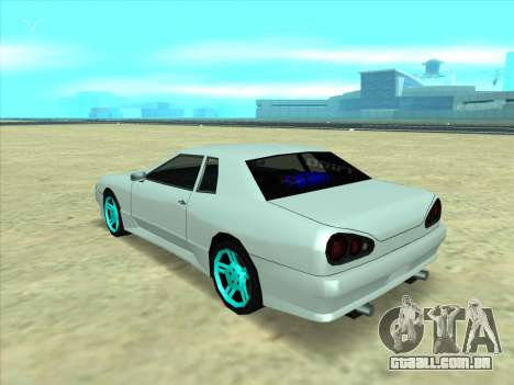 Drift elegy by KaMuKaD3e para GTA San Andreas traseira esquerda vista