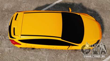 Ford Focus ST 2013 para GTA 4 vista direita
