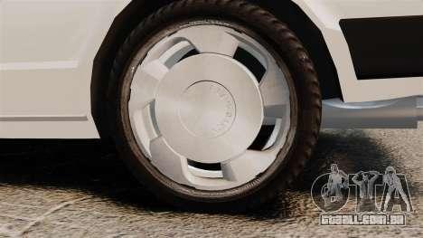 Volkswagen Passat TS 1981 para GTA 4 vista de volta