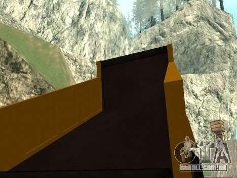 Novo descarregador para GTA San Andreas vista superior