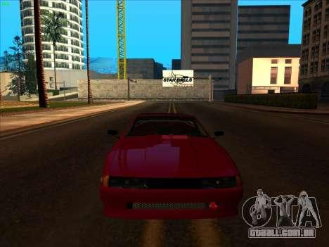 Elegy pickup by KaMuKaD3e para GTA San Andreas vista interior