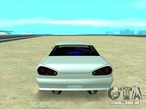 Drift elegy by KaMuKaD3e para GTA San Andreas vista traseira