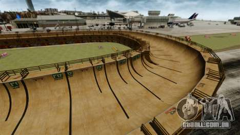 Pista de corrida v 1.1 para GTA 4 por diante tela
