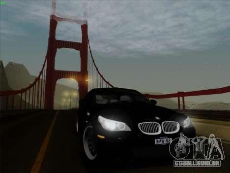 BMW M5 Hamann para GTA San Andreas vista traseira