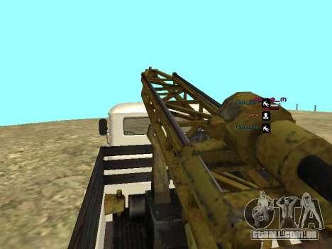 Perfuração de gás 66 para GTA San Andreas vista inferior