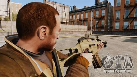 HK G36c para GTA 4 segundo screenshot