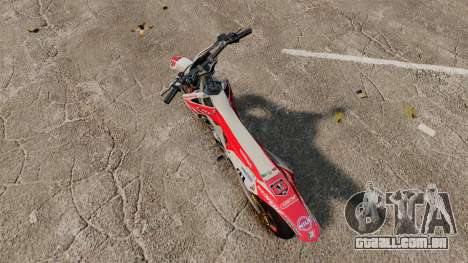 Honda CRF 450 Turbo Motard para GTA 4
