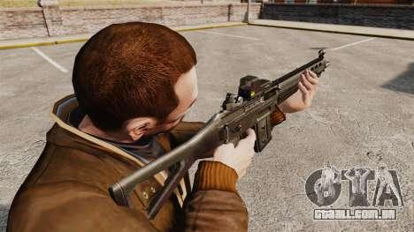 Fuzil SIG 551 para GTA 4 segundo screenshot