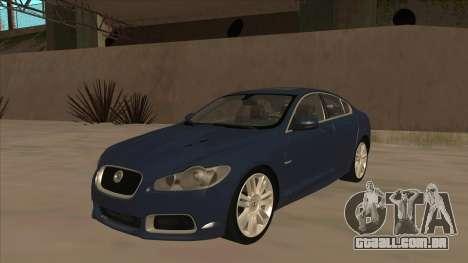 Jaguar XFR 2010 v1.0 para GTA San Andreas