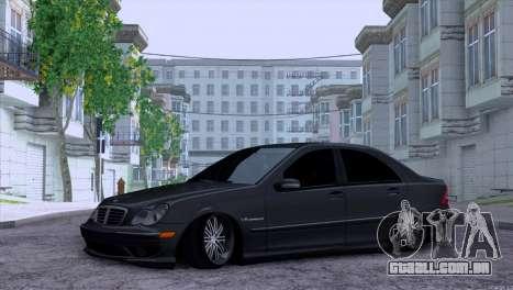 Mercedes-Benz C32 AMG para GTA San Andreas