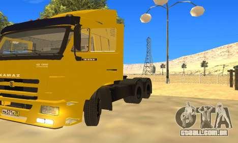 KAMAZ 65116 para GTA San Andreas vista traseira
