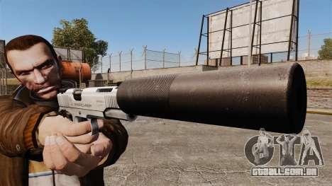 Pistola Colt 1911 para GTA 4 terceira tela