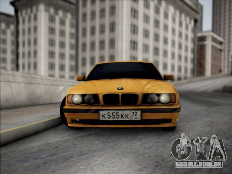 BMW M5 E34 para GTA San Andreas vista interior