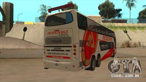 Marcopolo DD800 v3 para GTA San Andreas vista direita