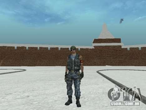 Commando para GTA San Andreas sexta tela