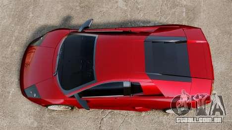 Lamborghini Murcielago 2005 para GTA 4 vista direita
