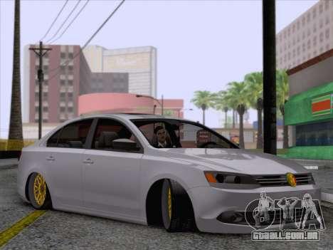 Volkswagen Jetta Rasta para GTA San Andreas traseira esquerda vista