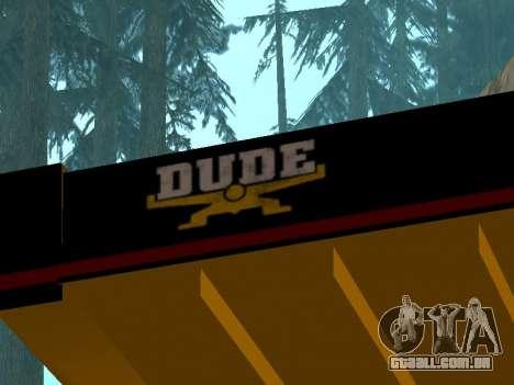 Novo descarregador para GTA San Andreas vista direita