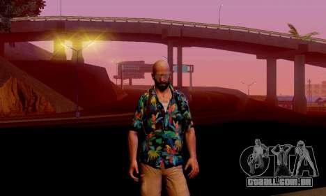 Max Payne 3 para GTA San Andreas segunda tela