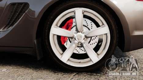 Porsche Cayman S para GTA 4 vista de volta