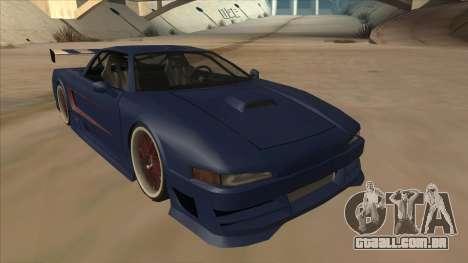 Infernus 2013 para GTA San Andreas esquerda vista
