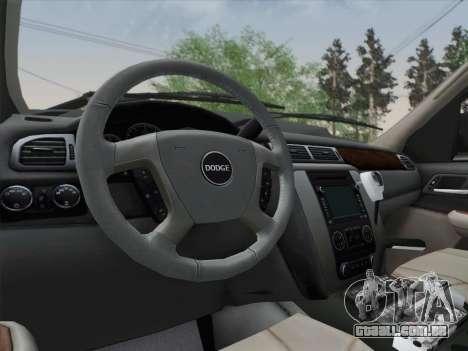 Dodge Ram Ambulance BCFD Paramedic 100 para GTA San Andreas vista inferior