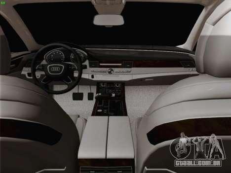 Audi A8 Limousine para o motor de GTA San Andreas