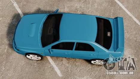 Subaru Impreza para GTA 4 vista direita