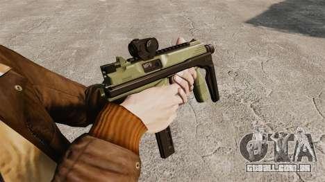 MP9 metralhadora tático v2 para GTA 4