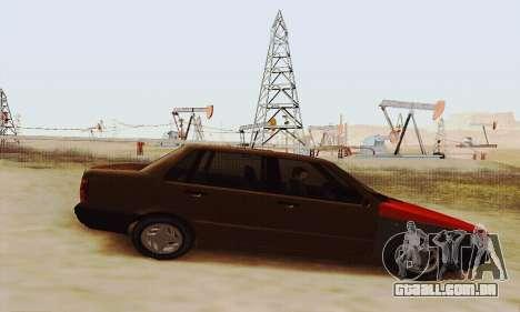 Fiat Duna para GTA San Andreas esquerda vista