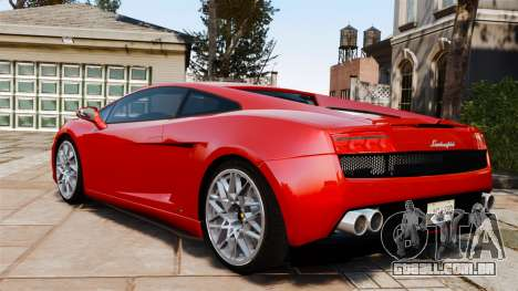 Lamborghini Gallardo LP560-4 [Final] v2 para GTA 4 esquerda vista