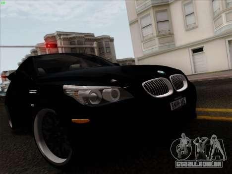 BMW M5 Hamann para GTA San Andreas vista direita