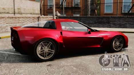 Chevrolet Corvette C6 Z06 V1.1 para GTA 4 esquerda vista