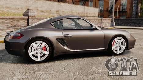 Porsche Cayman S para GTA 4
