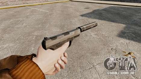 Walther P99 pistola semi-automática v2 para GTA 4 segundo screenshot